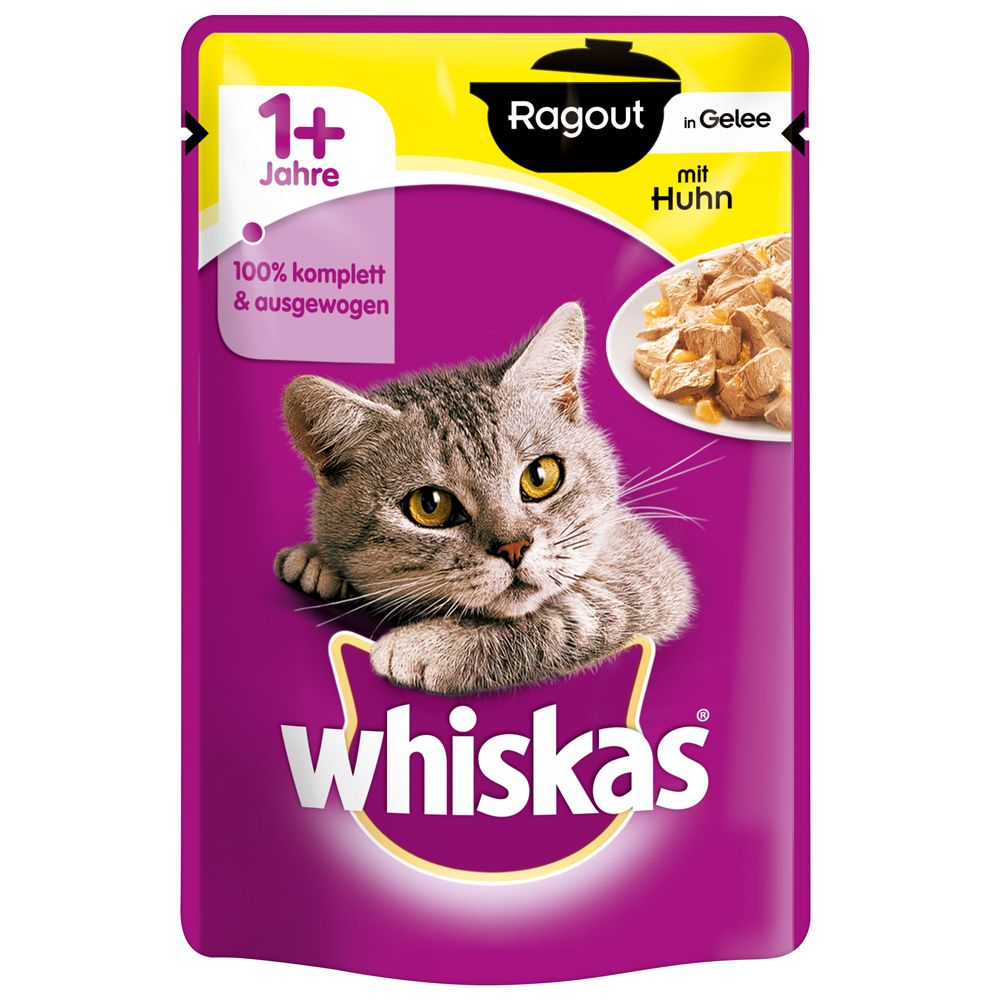 48 x 100g Whiskas 1+ Pouches