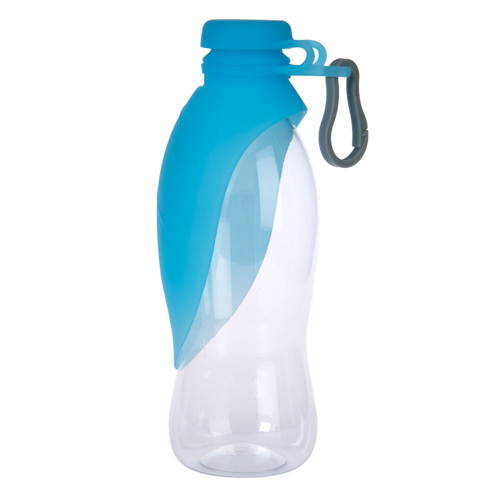 Smartpet Travel Drinking Bottle 500ml blue
