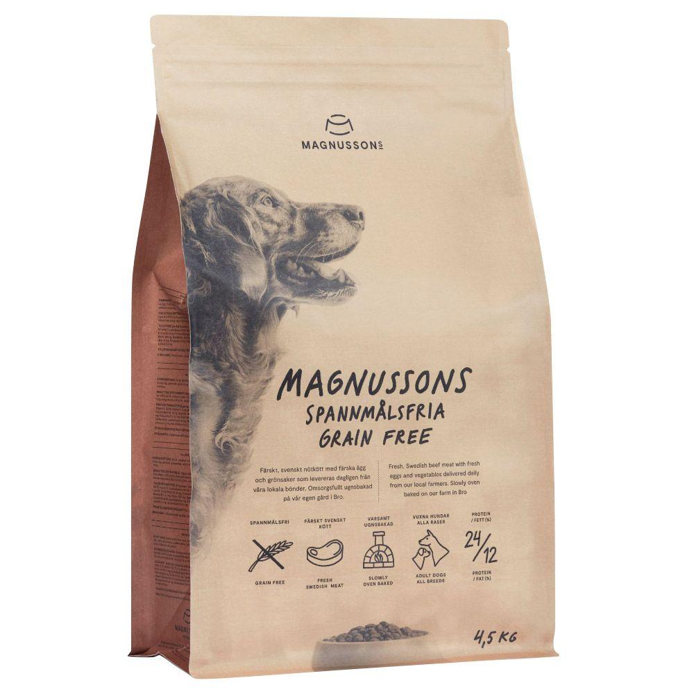 Image of MAGNUSSONS Grain Free - 4,5 kg