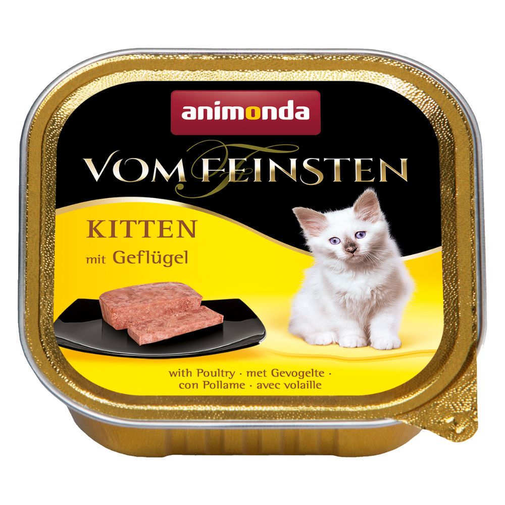 Animonda vom Feinsten Kitten 6 x 100 g - mit Rind