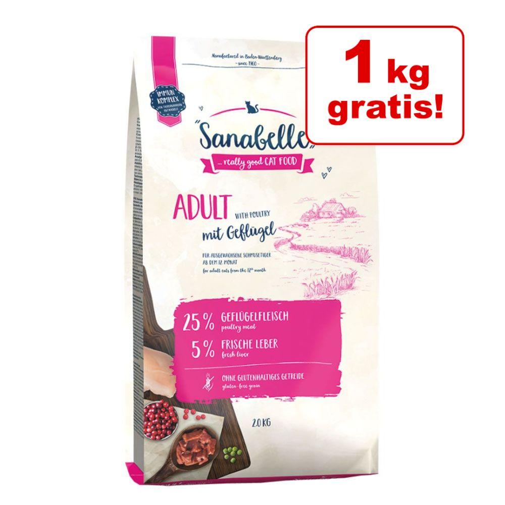 1 + 1 på köpet! 2 kg Sanabelle torrfoder - Kitten