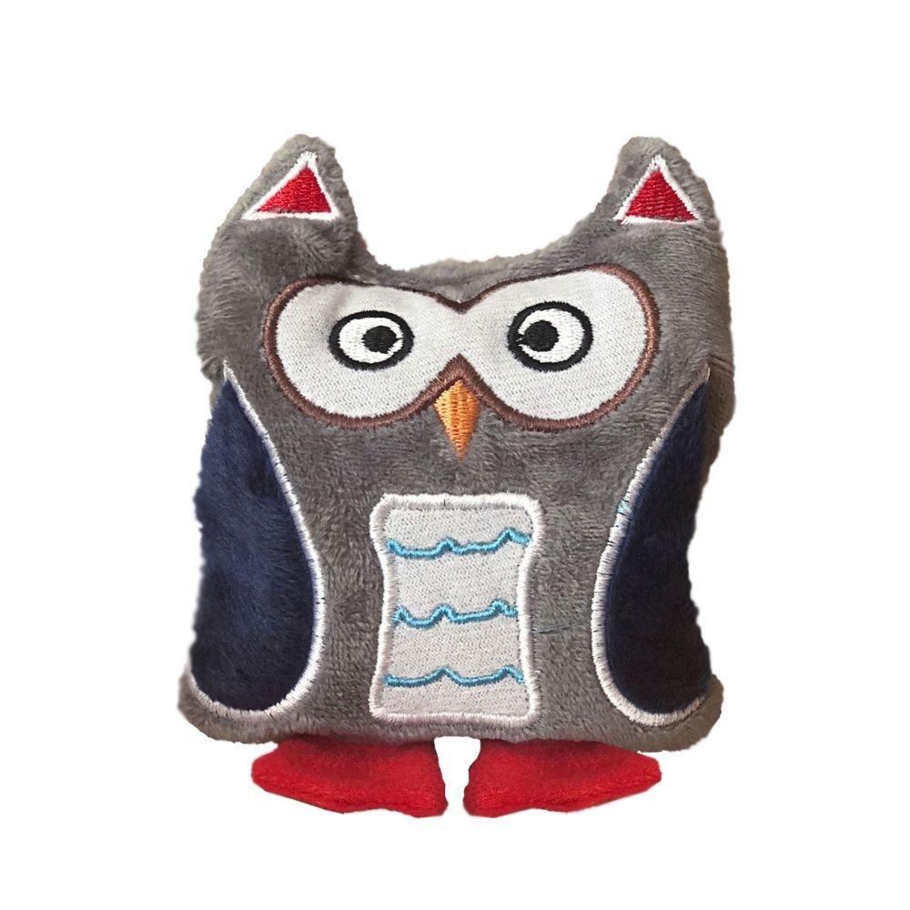 Aumuller Hedwig Valerian Catnip & Spelt Owl Cat Toy 1 Toy