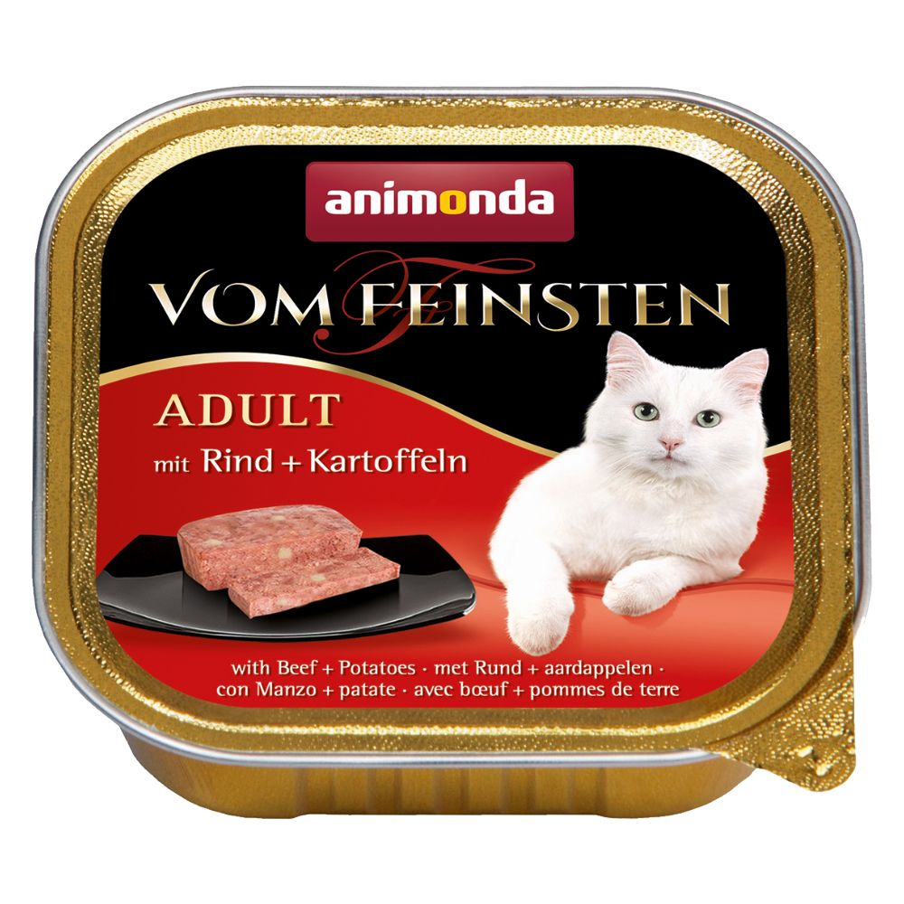 Animonda vom Feinsten Adult 6 x 100 g Lax & räkor