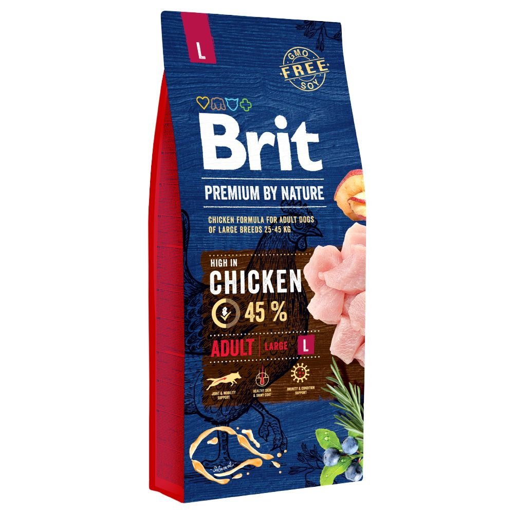 15kg Adult L Brit Premium - Croquettes pour chien