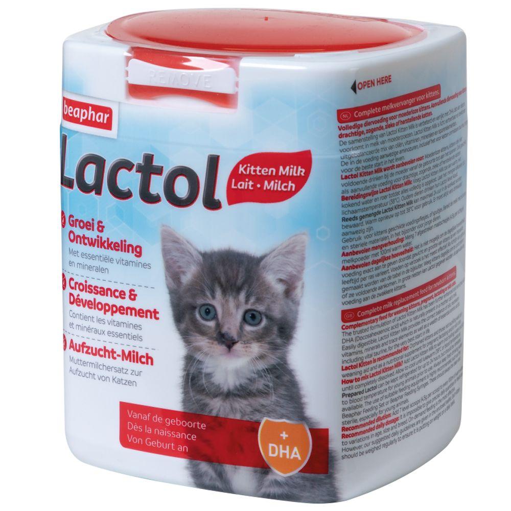 beaphar Lactol Aufzuchtmilch für Katzen - 3 x 500 g