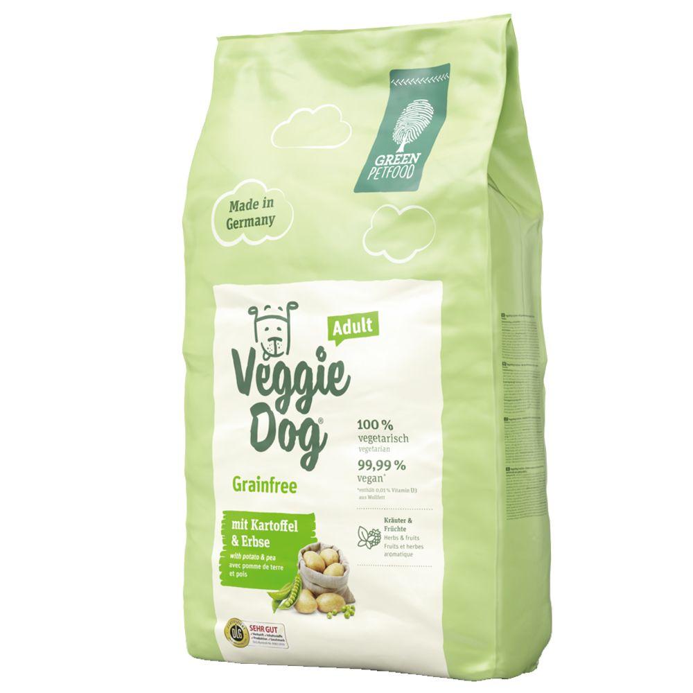 2x10kg VeggieDog Grainfree Green Petfood Dry Dog Food