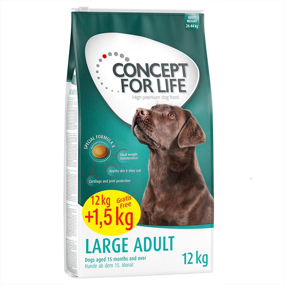 Concept for Life Dry Dog Food Bonus Bags