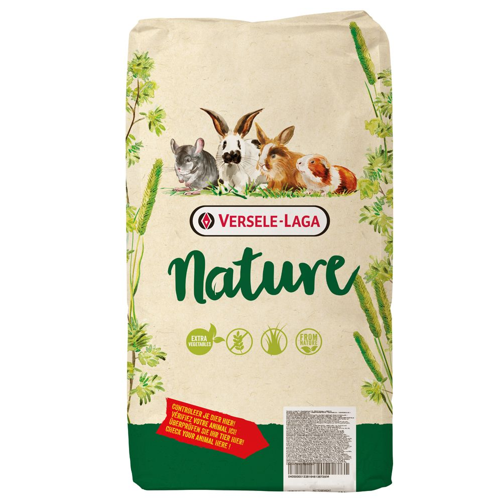 2.3kg Cavia Nature Versele-Laga Small Pet Food