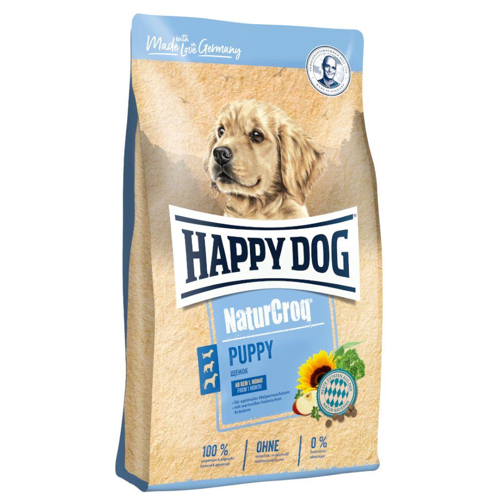2x15kg Happy Dog NaturCroq Puppy - Croquettes pour chiot