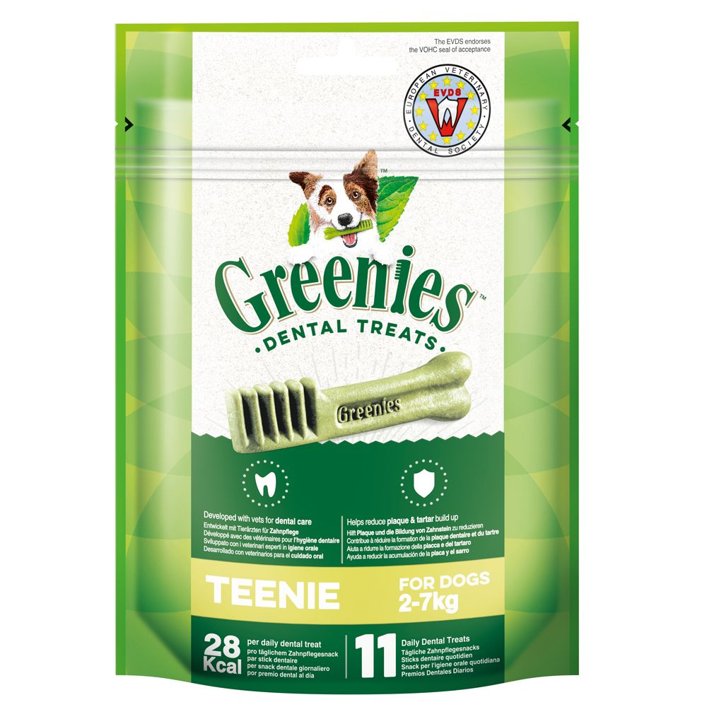 Greenies tandvårdsgodis - Medium (170 g / 6 st)