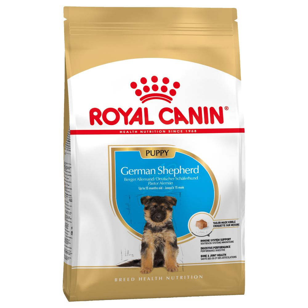 Puppy German Shepherd Breed Royal Canin Dry Dog Food
