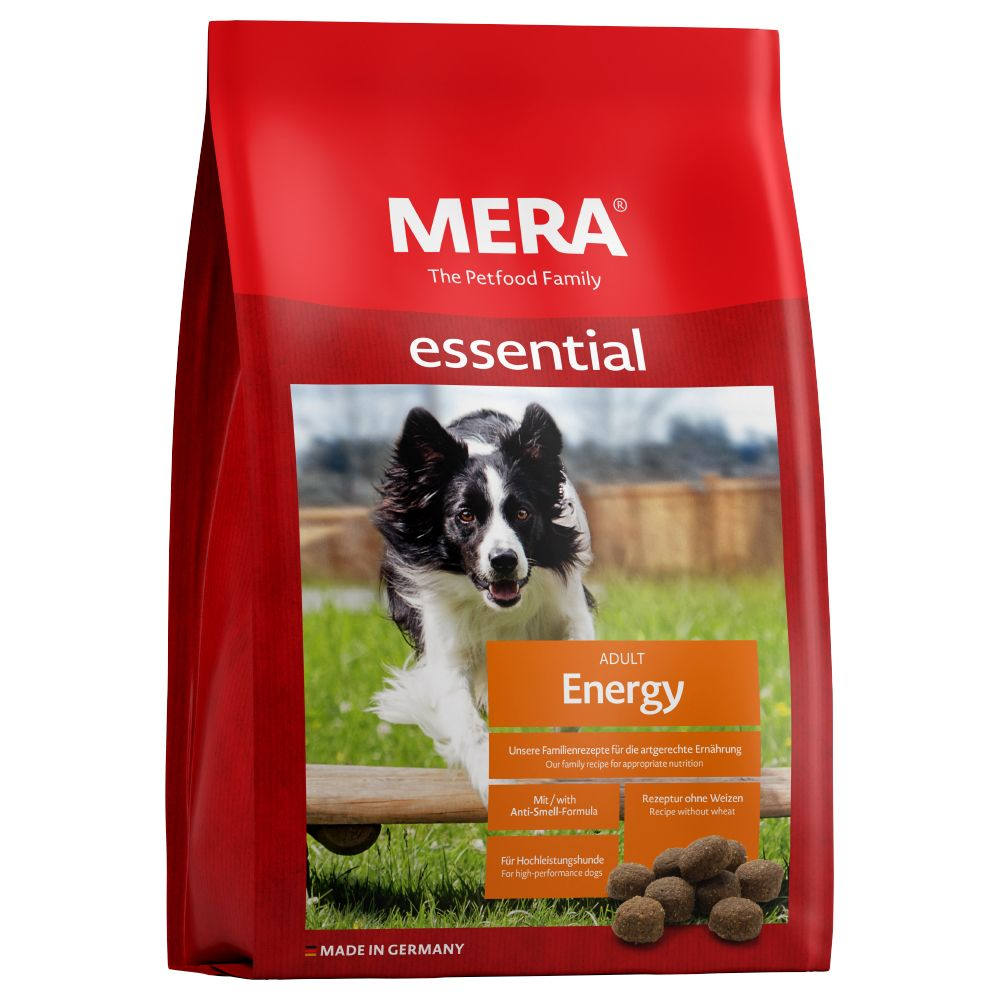 12,5kg MERA essential Energy - Croquettes pour chien