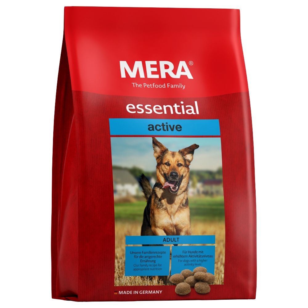 12,5kg MERA essential Active - Croquettes pour chien
