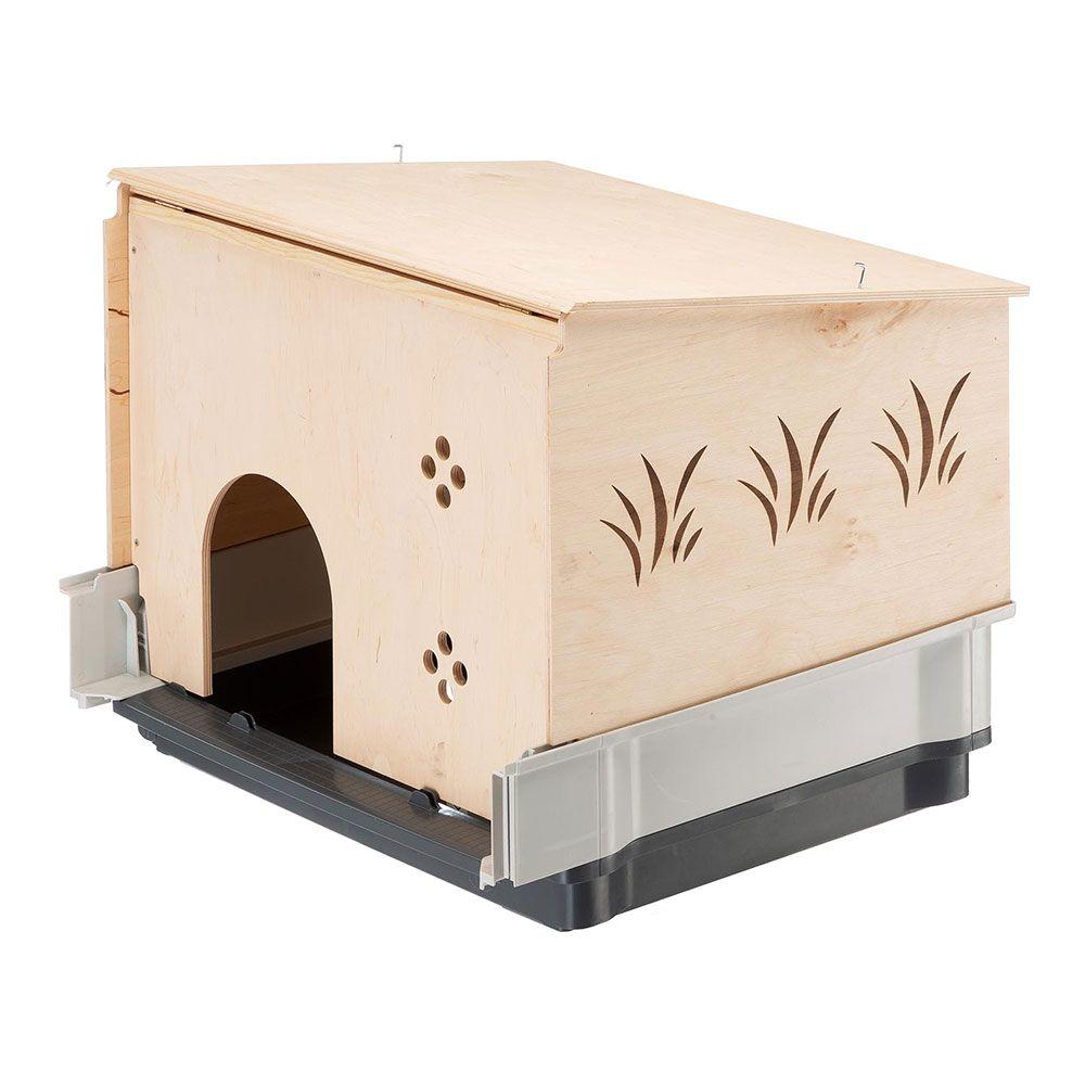Smådjurshus för Ferplast Plaza burar - L 42 x B 60 x H 50 cm