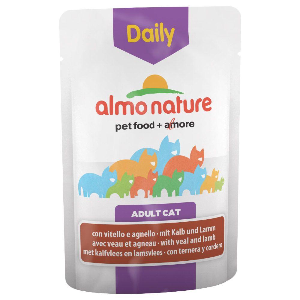 Almo Nature Daily Menu, 6 x 70 g - Kurczak i łosoś