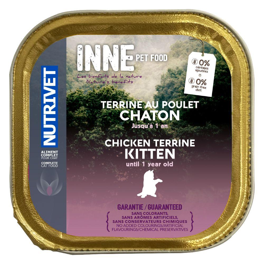 10x150g Nutrivet Inne Terrine Kitten - Pâtée pour chaton