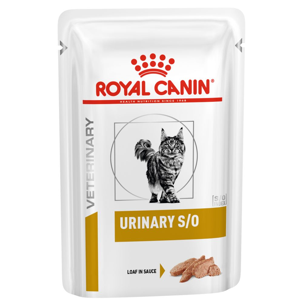 Royal Canin Urinary S/O - Veterinary Diet 48 x 85 g (bitar i sås)
