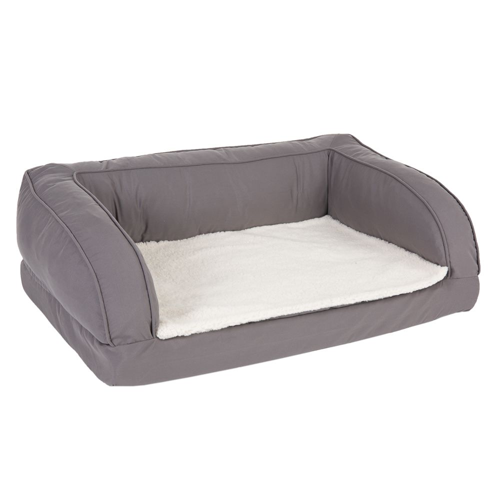 Orthopaedic Grey Dog Bed 115x70x32