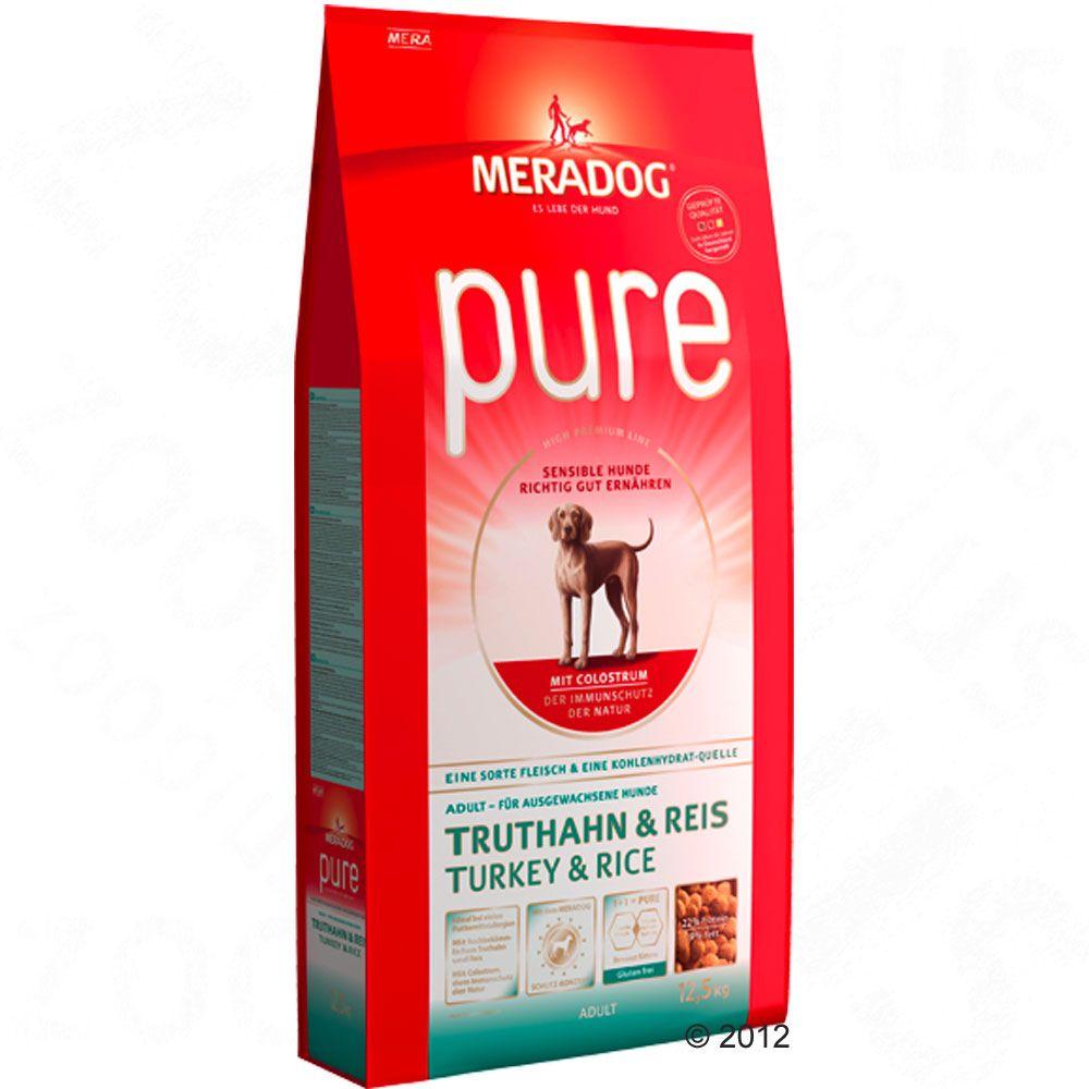 Foto Meradog pure Tacchino & Riso - 2 x 12,5 kg - prezzo top! Meradog High Premium Pure