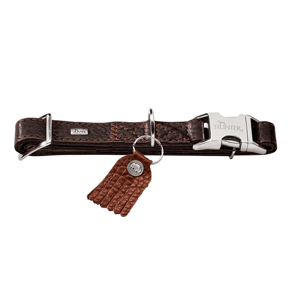 Hunter Cody Alu-Strong Dog Collar - Size L: 45-65cm Neck Circumference