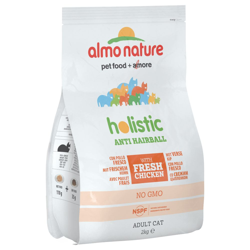 Image of Almo Nature Holistic Anti Hairball Huhn & Reis - 2 kg