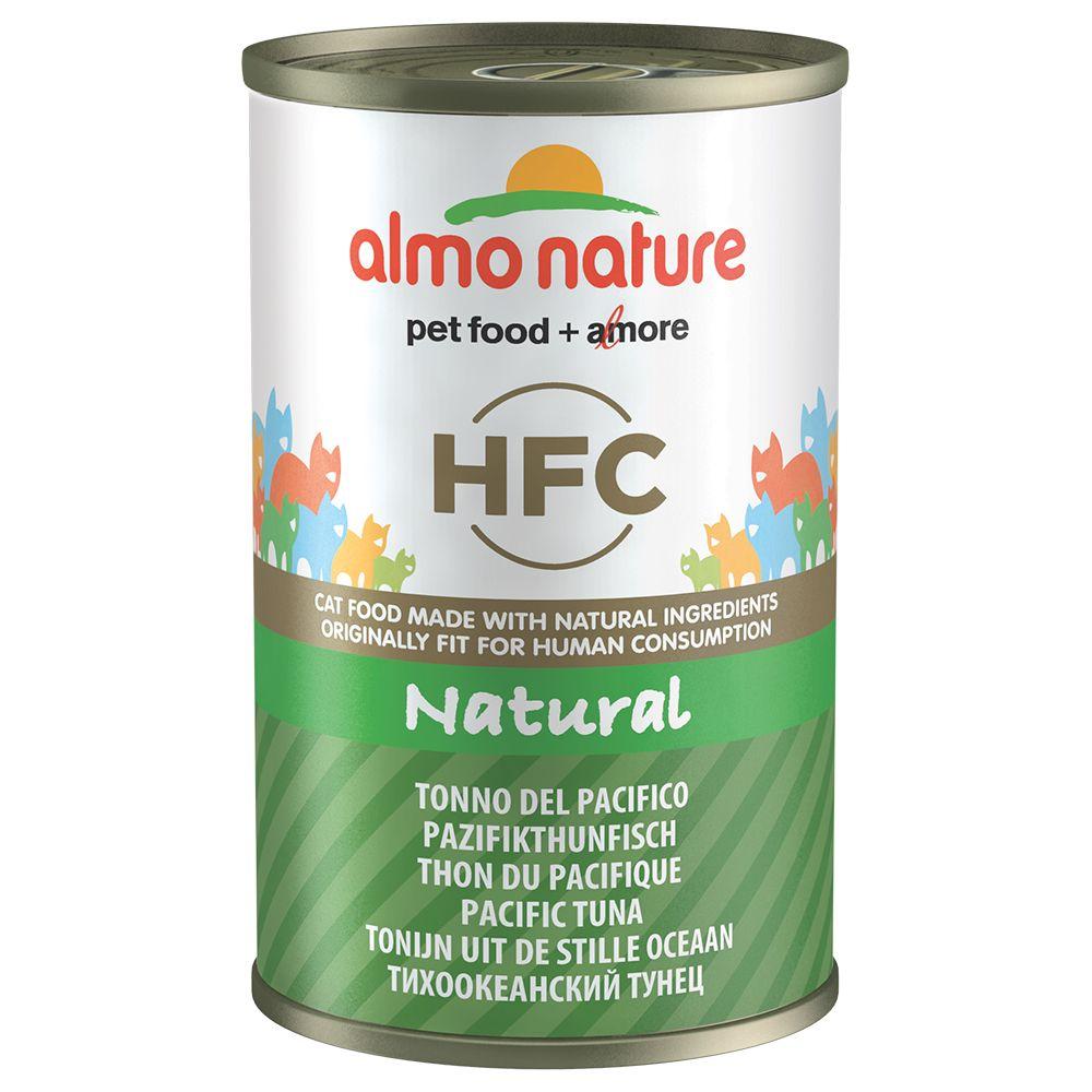 12x140g Tuna, Chicken & Ham Almo Nature Classic Wet Cat Food