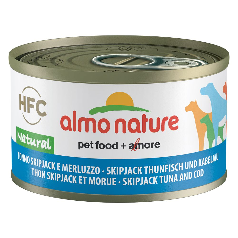 6x95g Almo Nature HFC Classic Chicken Fillet Wet Dog Food