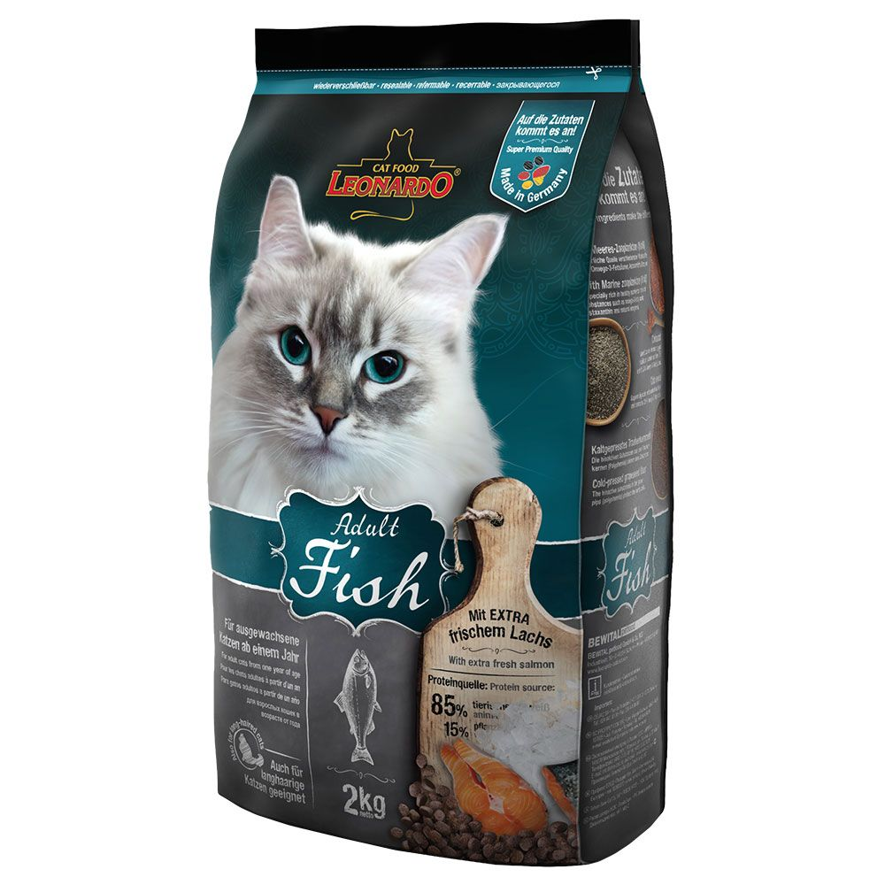 INOpets.com Anything for Pets Parents & Their Pets Leonardo Adult Fish - 15kg