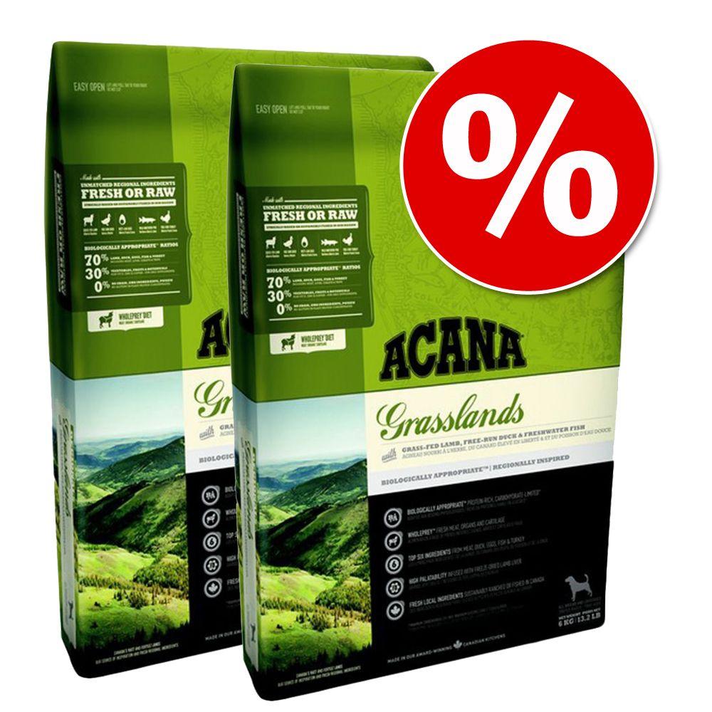 Ekonomipack: 2 påsar Acana hundfoder till lågpris! - Regionals Ranchlands (2 x 11,4 kg)