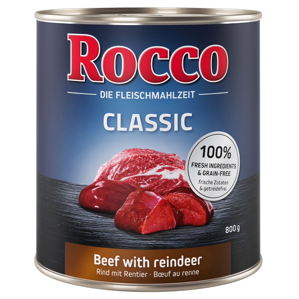 Classic 1 Rocco Wet Dog Food