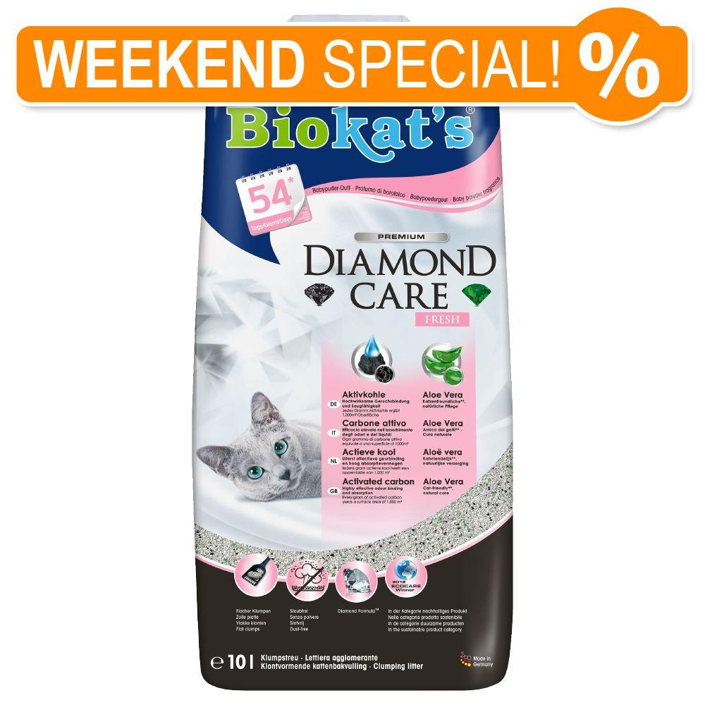 Image of Lettiera Biokat's Diamond Care Fresh - paletta igienica per lettiere Ultra
