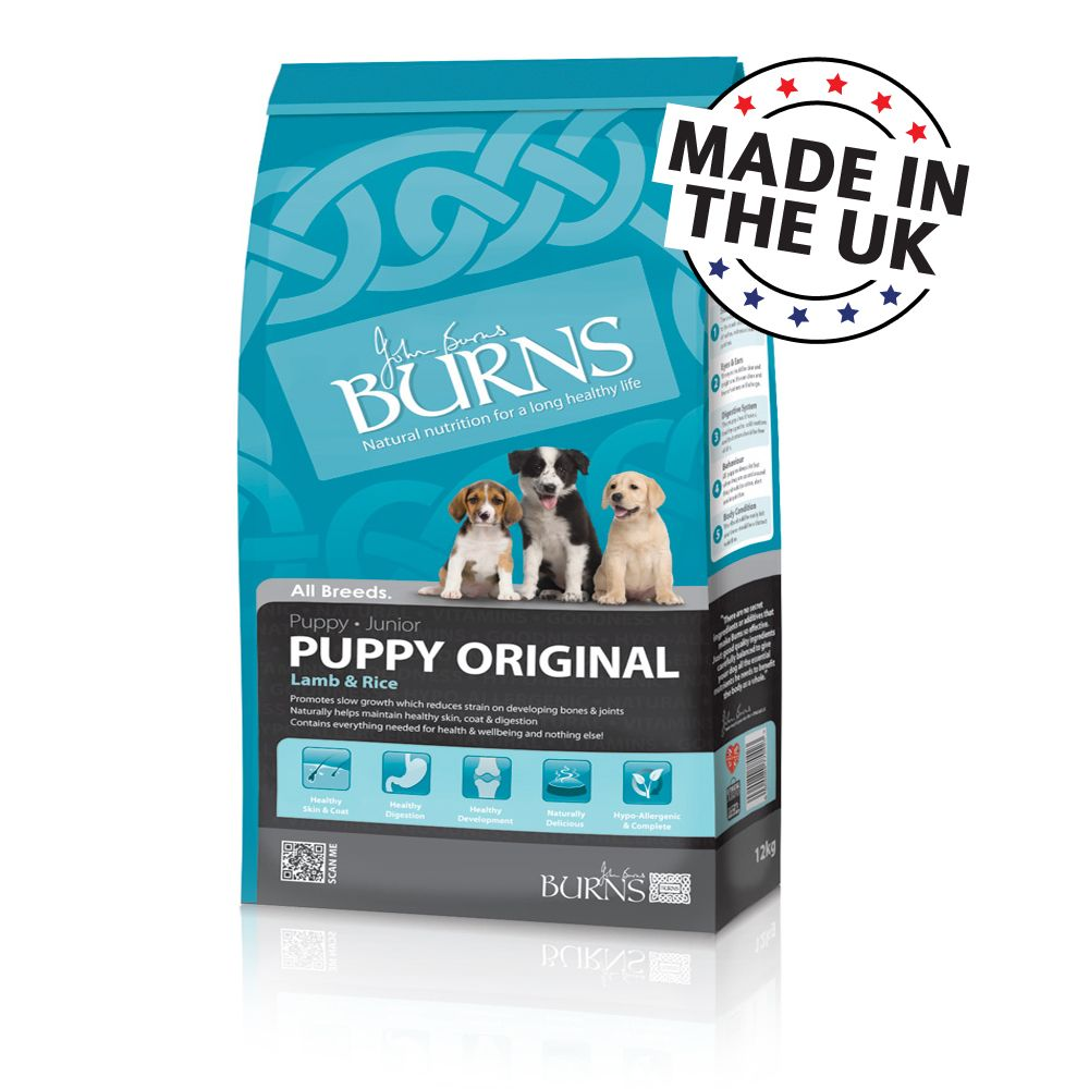 Foto Burns Puppy Original - Agnello & Riso - 12 kg