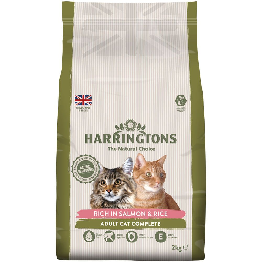 Harringtons Complete Cat - Salmon with Rice