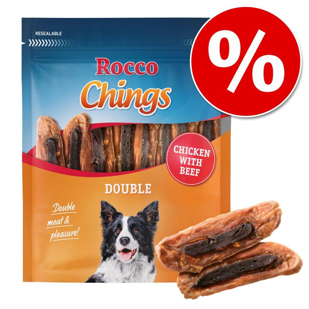Ekonomipack: Rocco Chings Double Kyckling & nötkött 12 x 200 g
