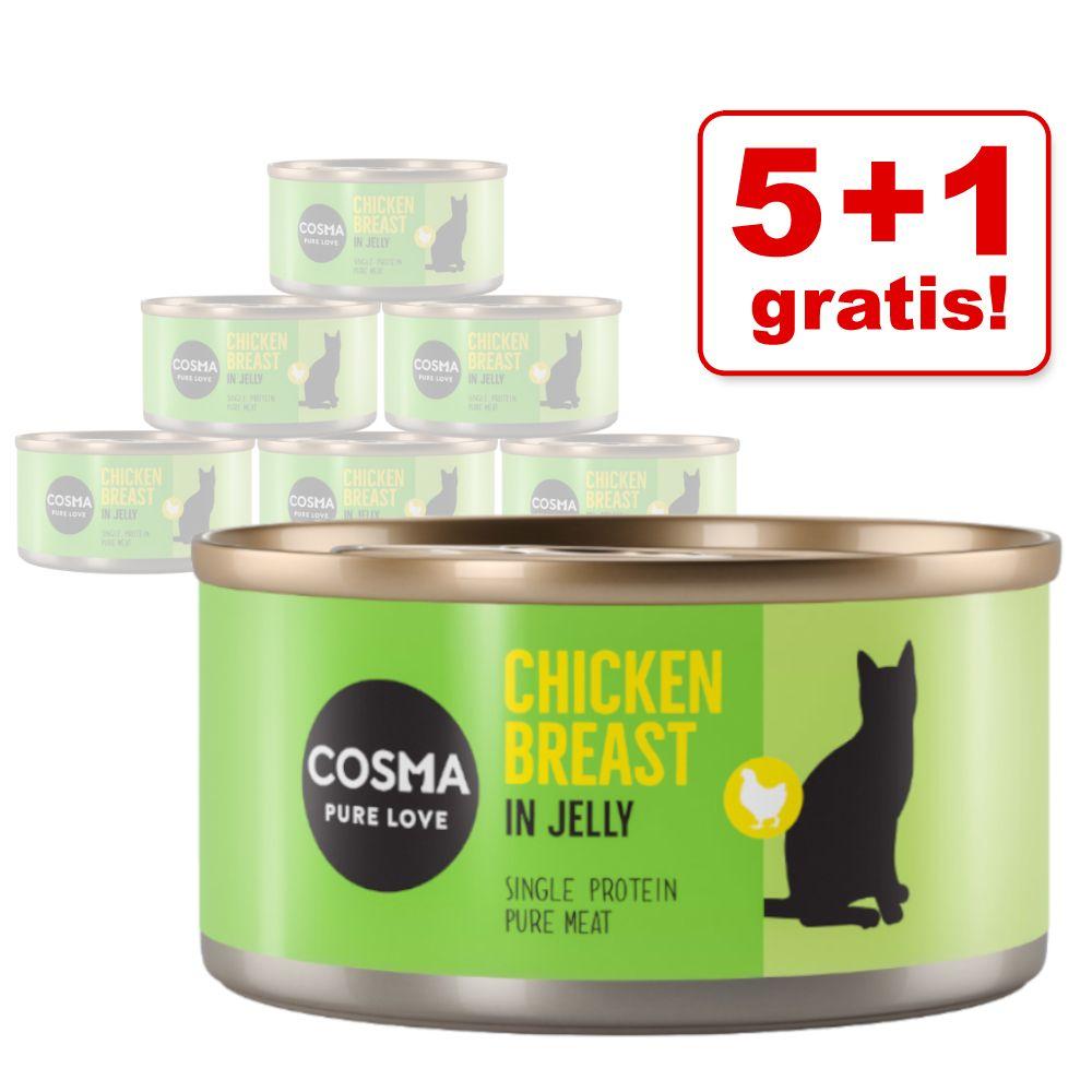 5 + 1 på köpet! 6 x 85 g Cosma Original och Asia - Asia Tonfisk & krabbkött