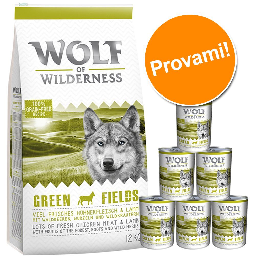 Image of Set prova Wolf of Wilderness Adult - Variante I - Agnello