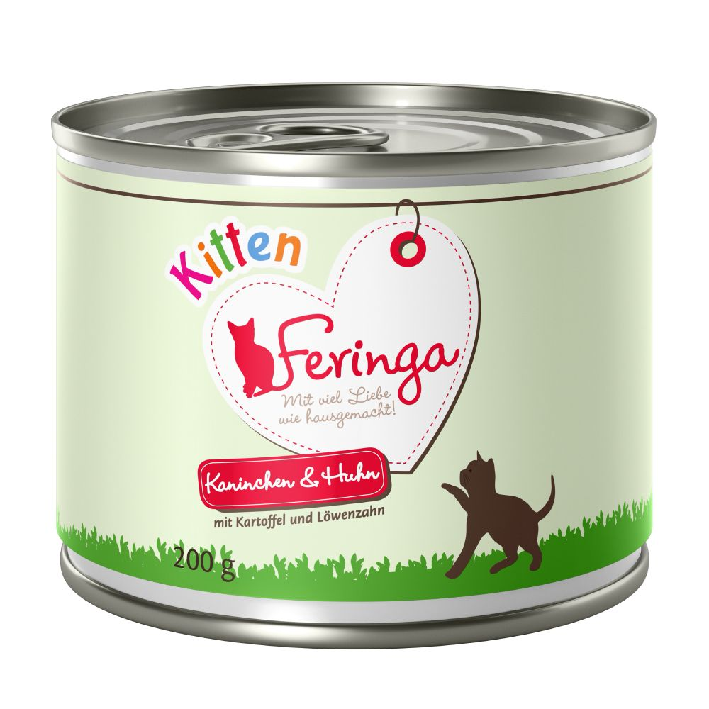 Kitten Chicken & Veal Feringa Menu Duo Wet Cat Food