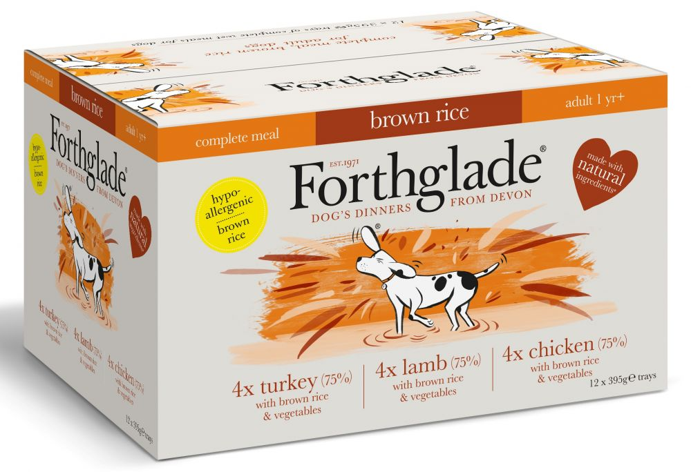 Turkey Grain-Free Forthglade Adult Dog Wet Food