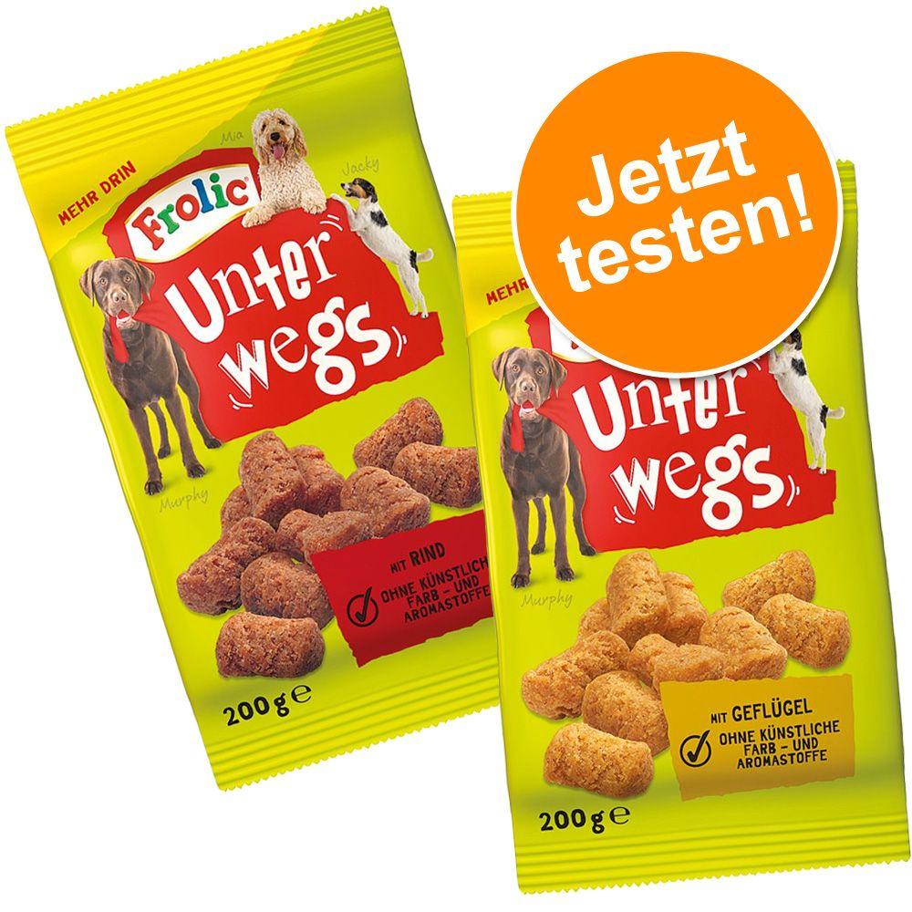 Mixpaket: Frolic Unterwegs mit Rind & Geflügel 2 x 200 g - Mixpaket: 2 x 200 g