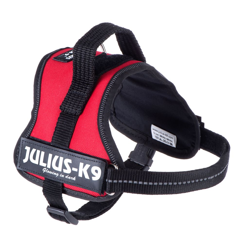 Julius K9 Power Harness - Red - Size 1