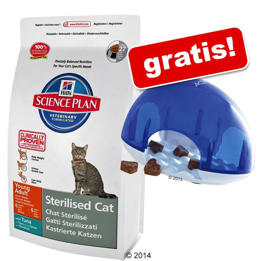 8 / 10 kg Hill's Feline + rolig Trixie Cat Activity Snack Box på köpet! - Adult Urinary & Sterilised Chicken (8 kg)