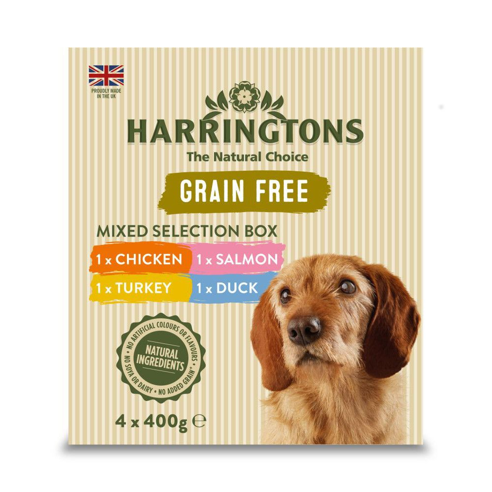 Harringtons Grain-Free Mixed Selection Box Wet Dog Food