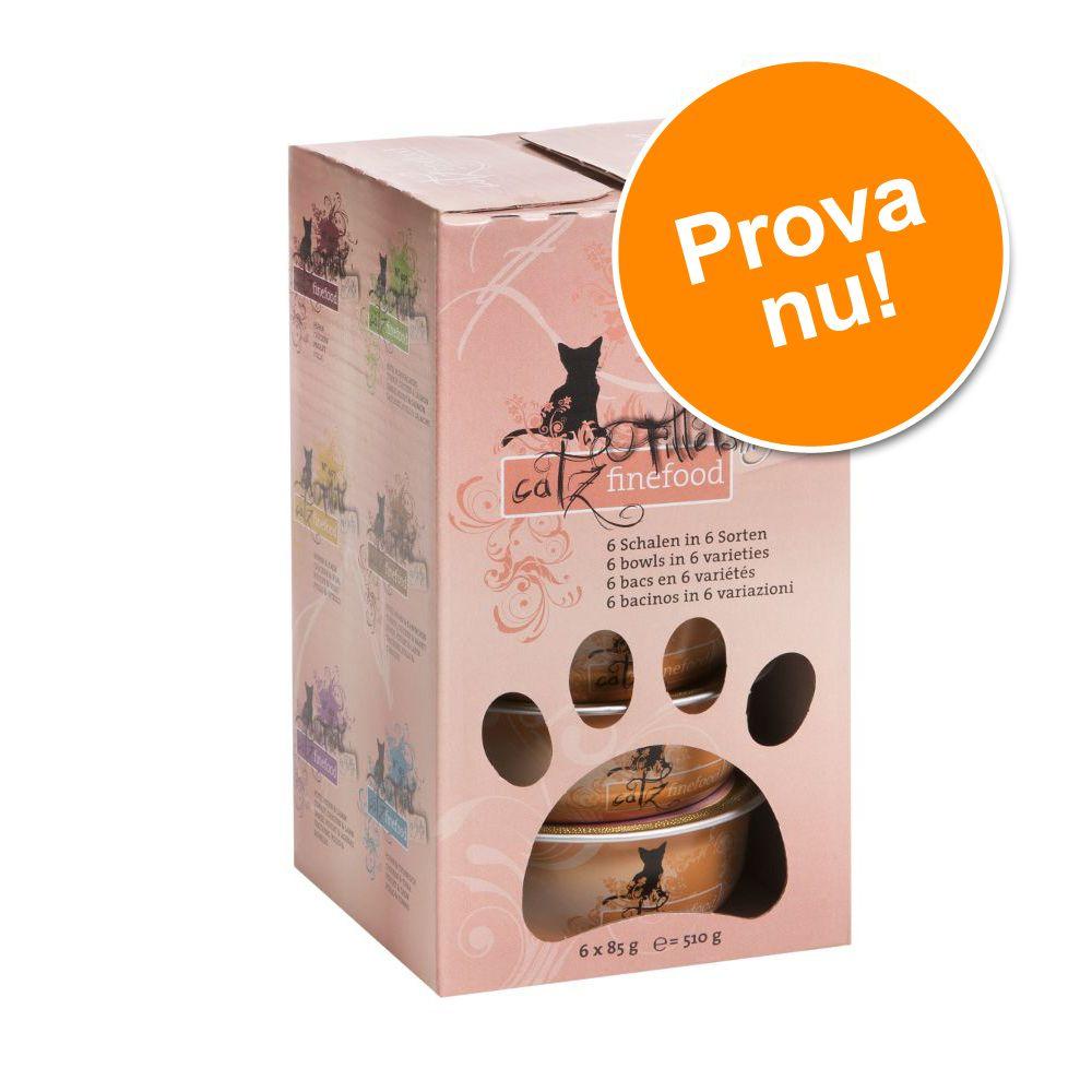 Provpack: catz finefood Fillets 6 x 85 g - Provpack