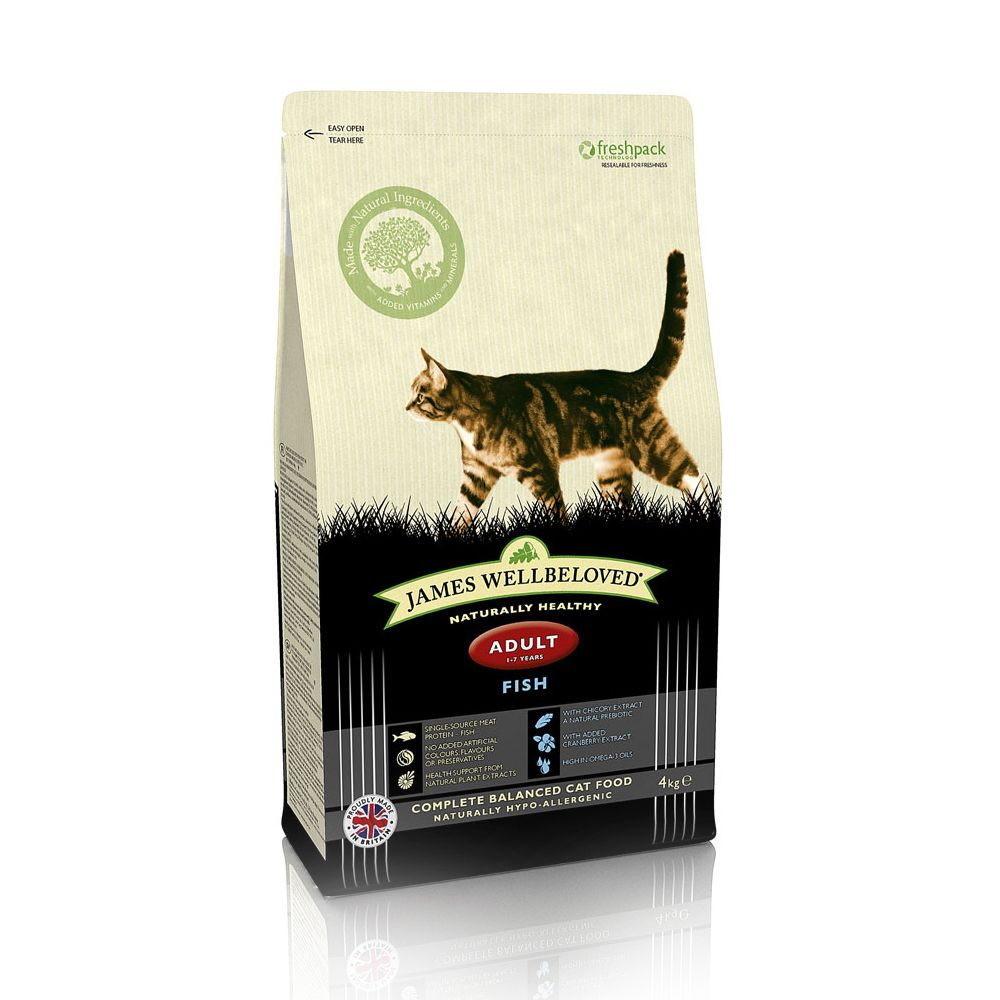 James Wellbeloved Adult Cat - Fish - 10kg
