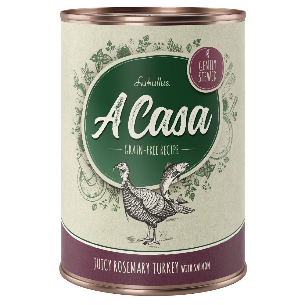 12x400g Chicken, Herbs A Casa Lukullus Wet Dog Food