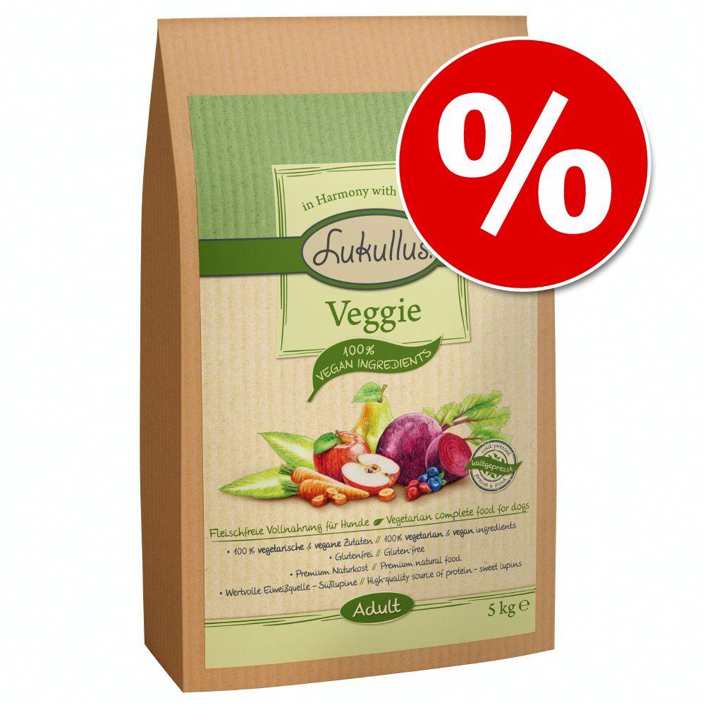 11 + 4 kg gratis! Lukullus Veggie (kaltgepresst) 15 kg - 15 kg
