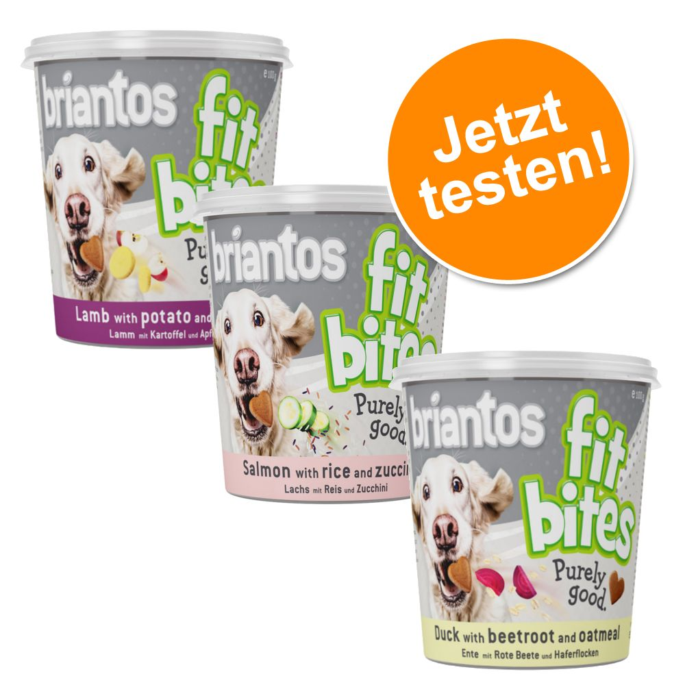 Probierpaket Briantos Hundesnacks ´´FitBites´´ ...