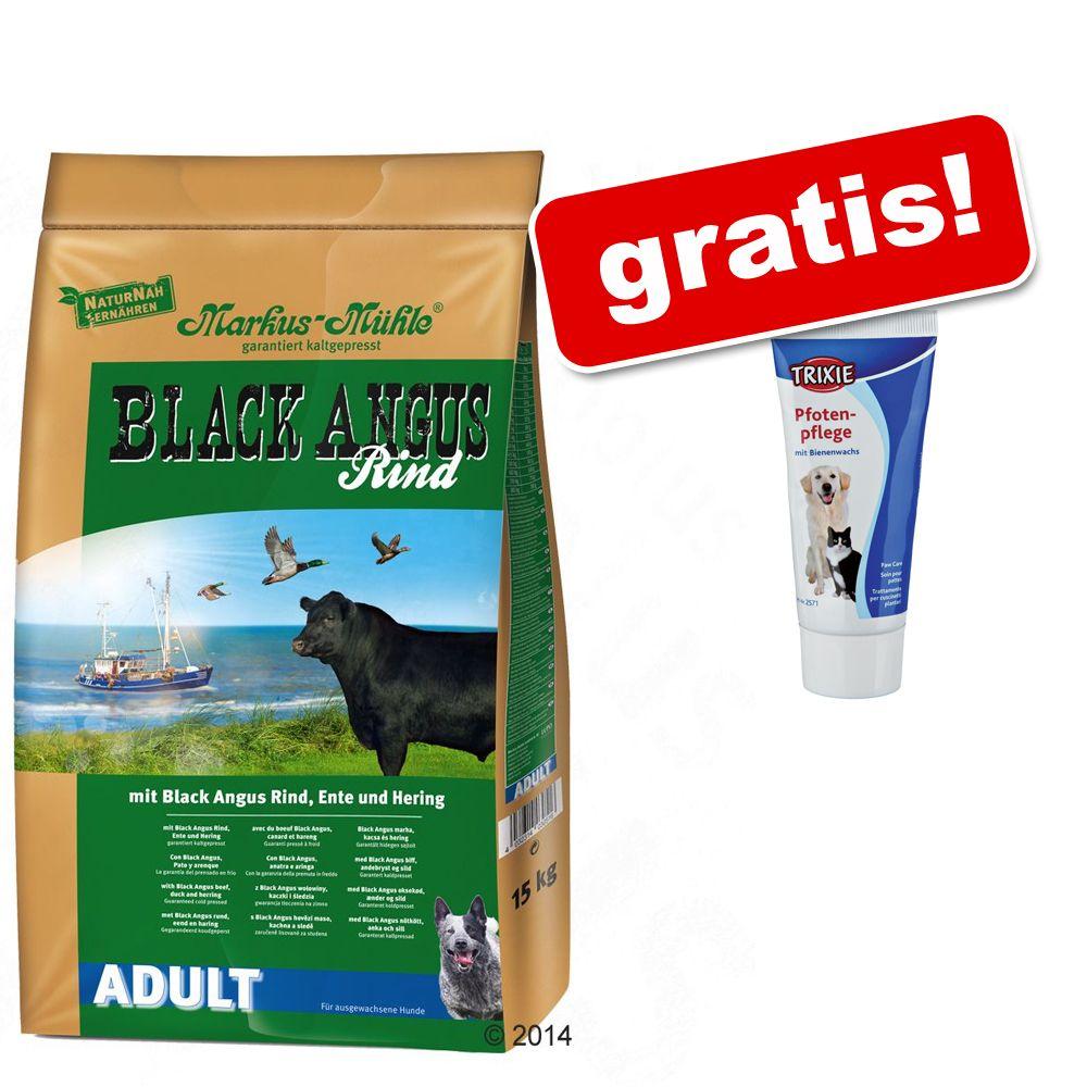 15 kg Markus Mühle + Trixie Paw Care Cream Pro Care gratis! - Rotwild Hirsch jelen