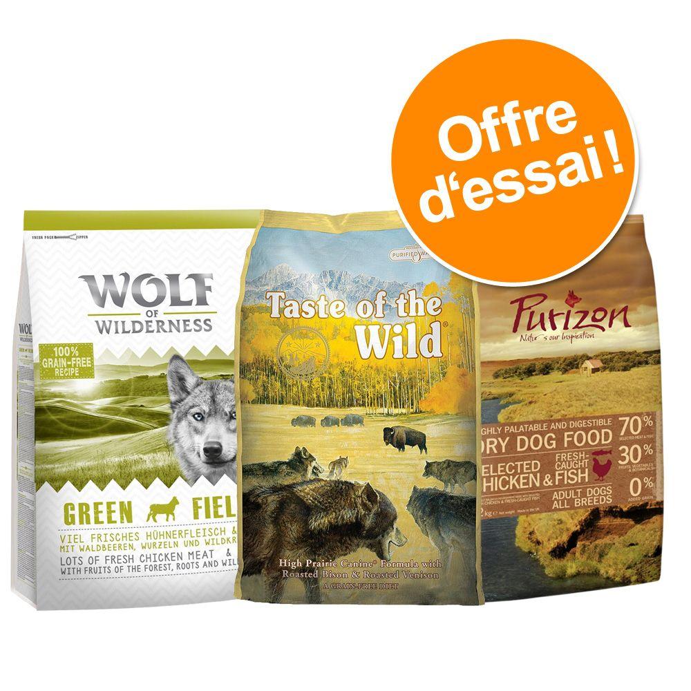 Chien Croquettes ★ Wolf of Wilderness Offres d´essai croquettes