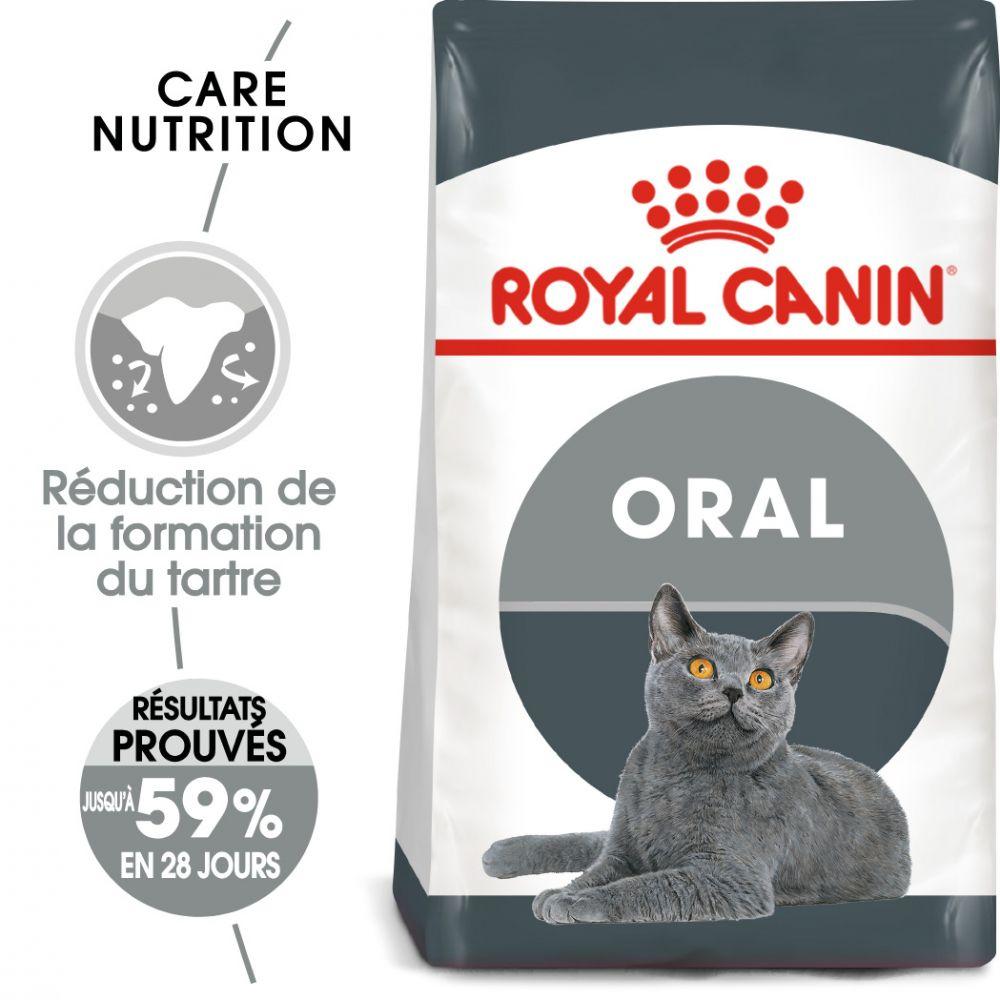8kg Oral Care Royal Canin Croquettes pour chat